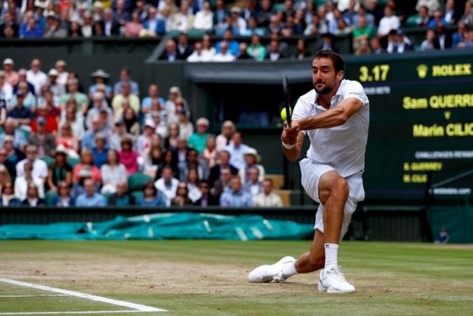 Marin Cilic, Wimbledon 2017 final, Marin Cilic