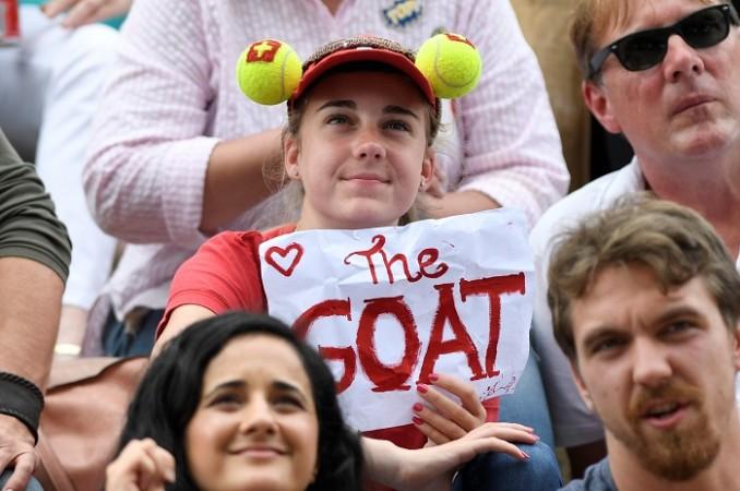 Roger Federer, GOAT, Federer fan, Wimbledon 2017