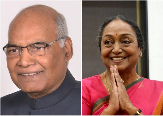 Rom Nath Kovind VS Meira Kumar