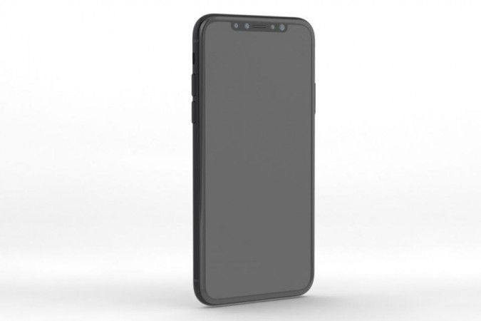 iPhone 8 CAD render