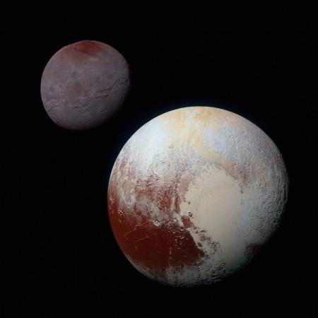 nasa, Charon, Plutón, luna, planeta enano,