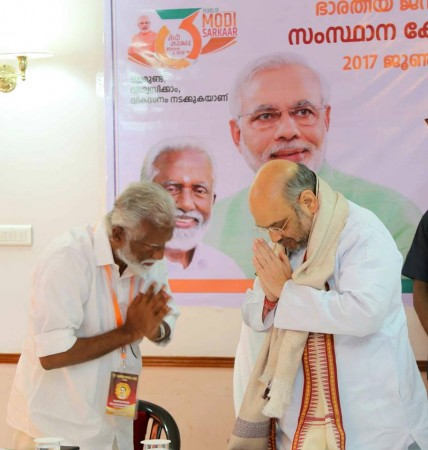 Leaked BJP internal probe report nails Kerala leader for taking bribes