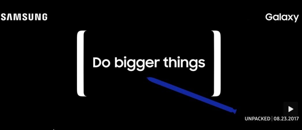 Samsung, Galaxy Note 8, launch teaser, features