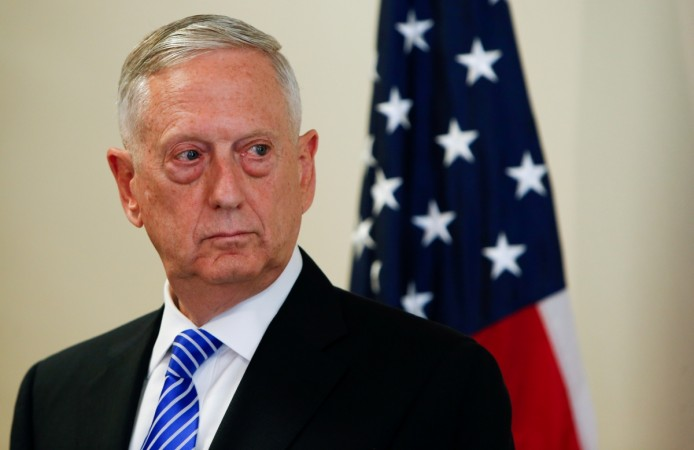 Mattis' plane reportedly targeted by Taliban