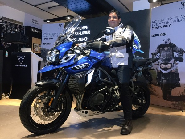 Triumph to launch 2017 Tiger Explorer on July 25