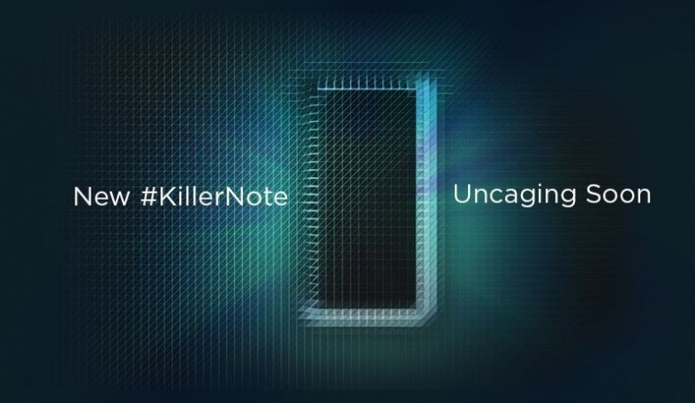 Lenovo teases a 'Killer Note' set for launch in India