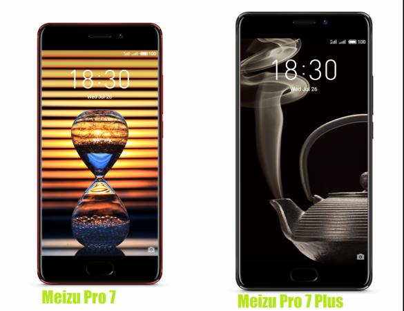 Meizu Pro 7 and Pro 7 Plus announced