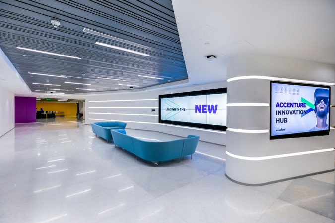 Accentures First Innovation Hub In Bangalore Helps Clients