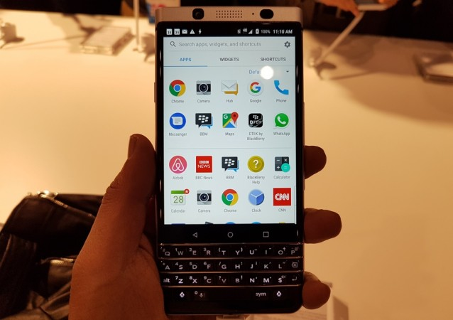 BlackBerry KEYone To Launch In India Today For Under Rs 40000