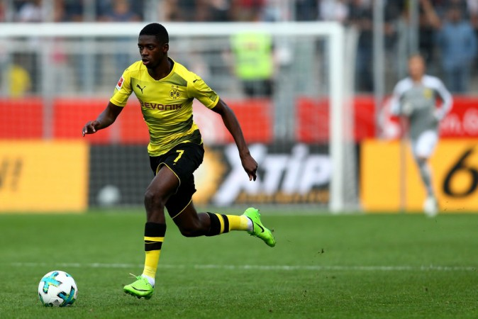 Barcelona agree £90m initial fee for Ousmane Dembele