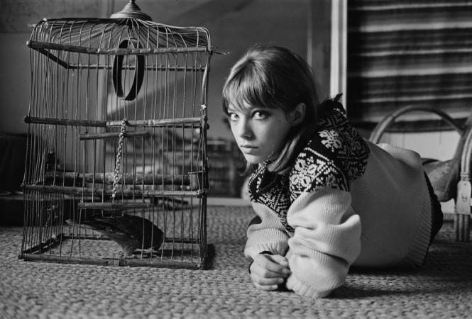 Actress Jane Birkin