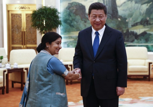 Sushma Swaraj Xi Jinping