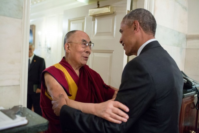 Dalai Lama and Barack Obama