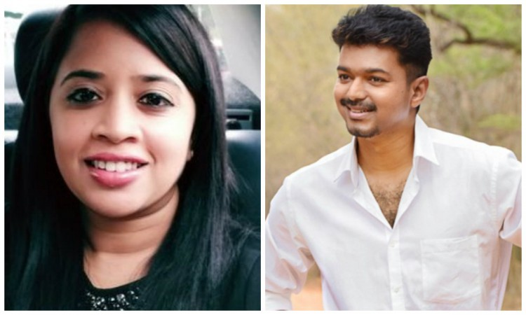 Vijay Asks Fans To Not Abuse Women Journalist