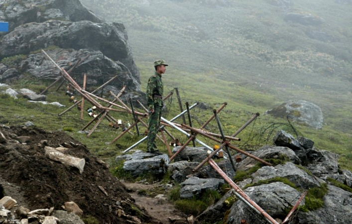 Caution alert at Doklam: Heavy troop build up along Indo-China border