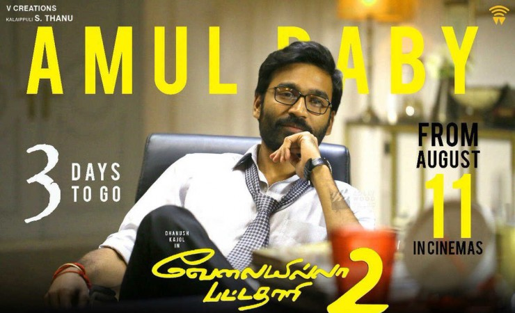 Dhanush's 'VIP 3' is on the cards