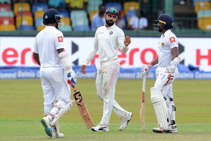 Virat Kohli India vs Sri Lanka 3rd Test