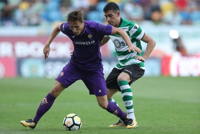 Federico Chiesa, Fiorentina, Manchester United, Chelsea