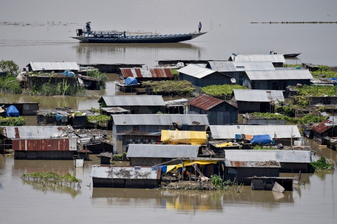 Another spell of flood hits Assam, affects over 3.54 lakh people