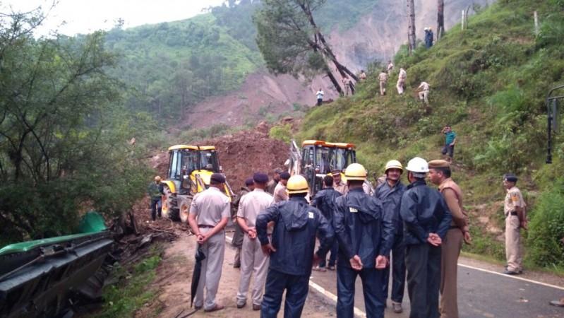 Mandi landslide