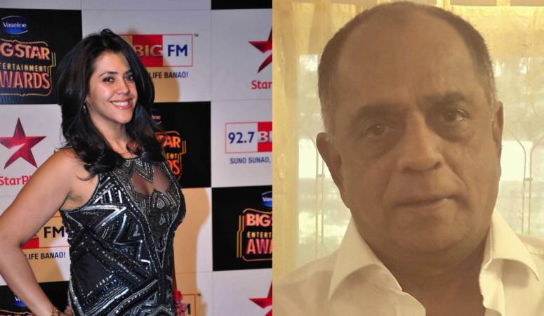 Ekta Kapoor, Pahlaj Nihalani