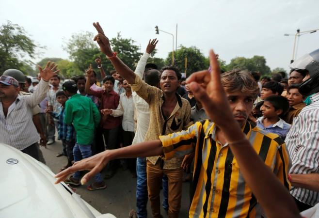 Una Dalit flogging