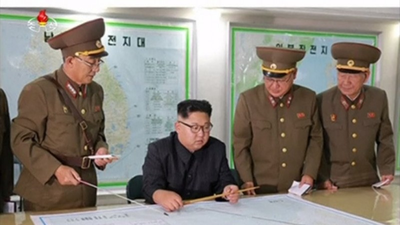 North Korea: Kim Jong-un briefed on plan to fire missiles near Guam