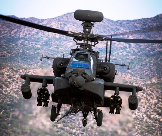 Apache attack helicopters cleared for Army