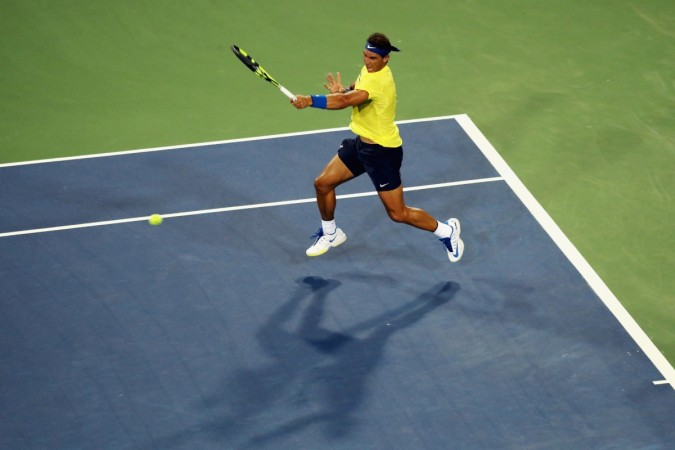 Nick Kyrgios gives Rafael Nadal a tennis lesson in Cincinnati