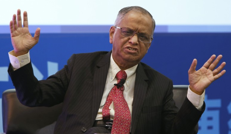 All is well under the leadership of Nilekani at Infosys: Narayana Murthy