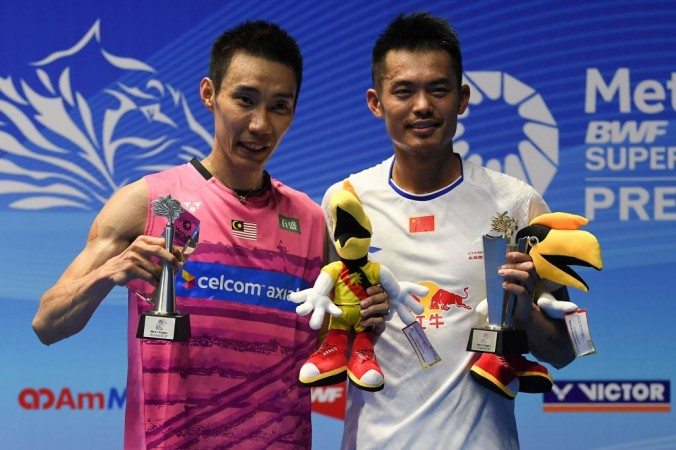 Lin Dan and Lee Chong Wei