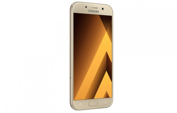 Samsung Galaxy A5 (2017) as seen on its official website