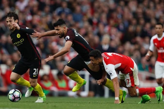 David Silva, Sergio Aguero, Alexis Sanchez, Manchester City, Arsenal