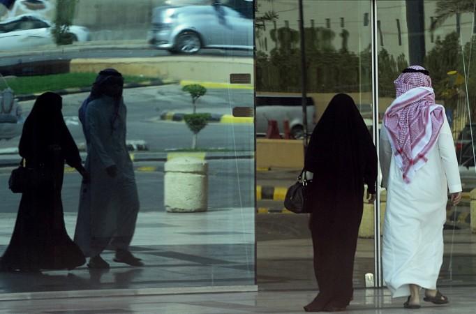 Couple in Saudi Arabia