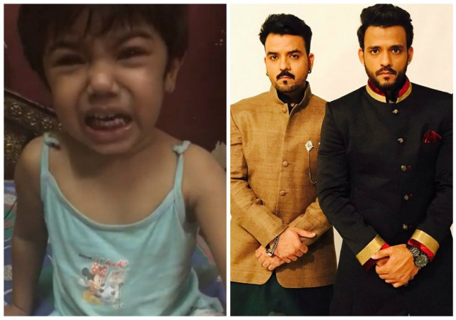 Crying girl in Virat Kohli's post is singer Toshi's niece