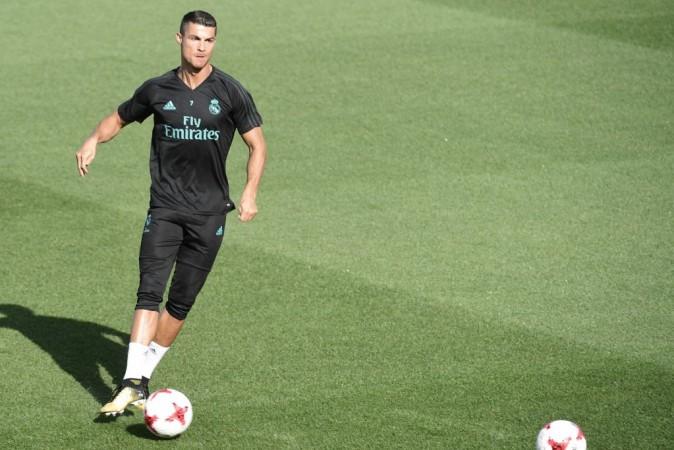 Cristiano Ronaldo, Santiago Bernabeu,