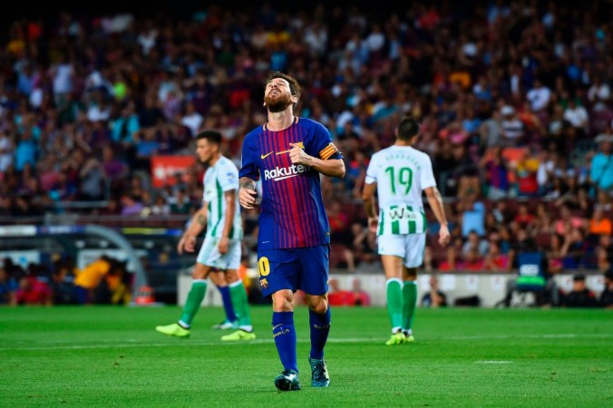 Lionel Messi Manchester City Barcelona Transfer news