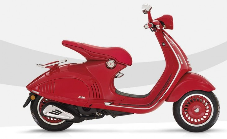 Special Edition Vespa Red launched at Rs. 87000