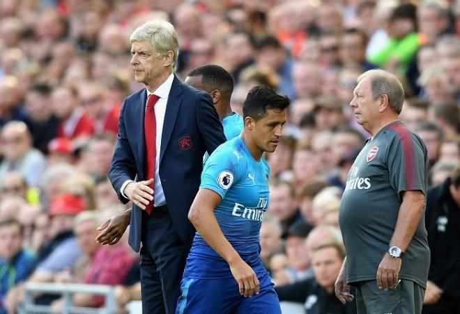 Arsene Wenger, Alexis Sanchez, Arsenal