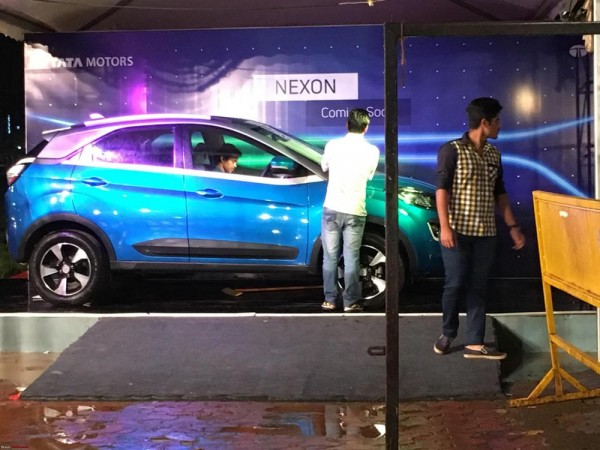 Tata Nexon Compact Suv S Promotional Activities Begins Ahead Of
