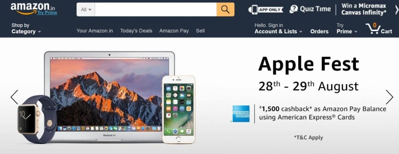 Amazon, Apple Fest, best deals, iPhones, iPads, Macbook, Apple Watch