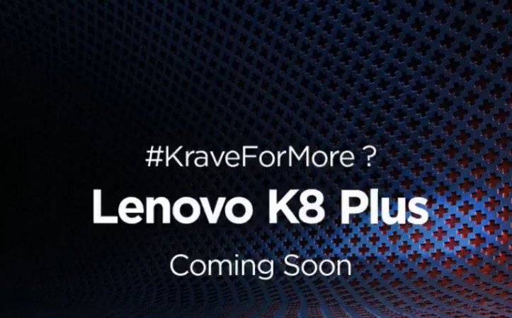 Lenovo K8 and K8 Plus coming to India in mid-september