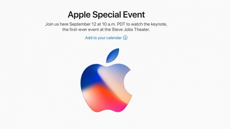 Apple Special Event, September 2017, Steve Jobs Theater, iPhone X launch
