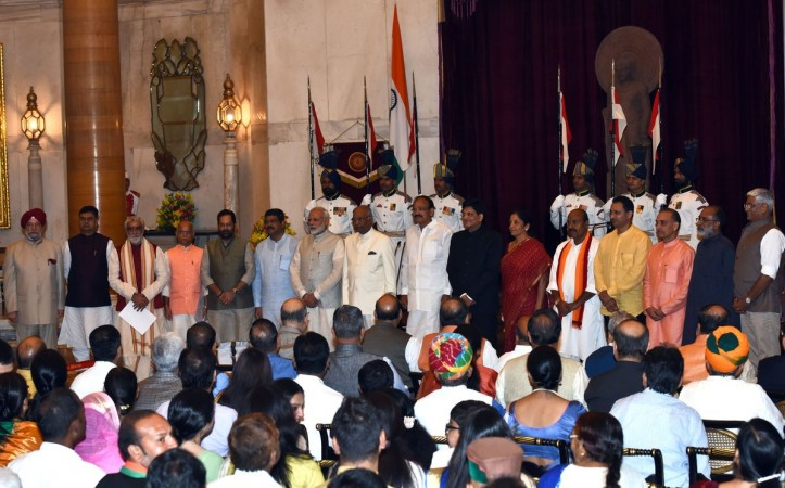 Cabinet Rejig: Four Ministers of State swear in as Cabinet Ministers
