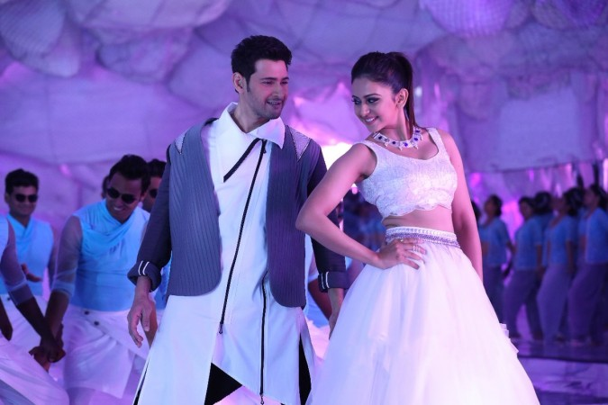 Mahesh Babu and Rakul Preet Singh in Spyder