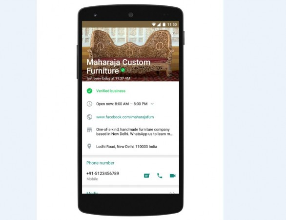 WhatsApp Business Version Debuts On Android