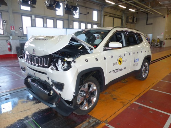 Jeep Compass gets 5-star Euro NCAP safety rating