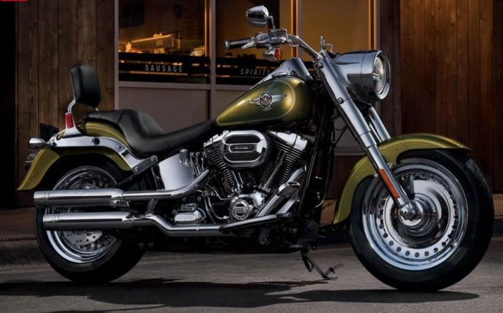 Harley Davidson Flstf Softail Fat Boy Price In India