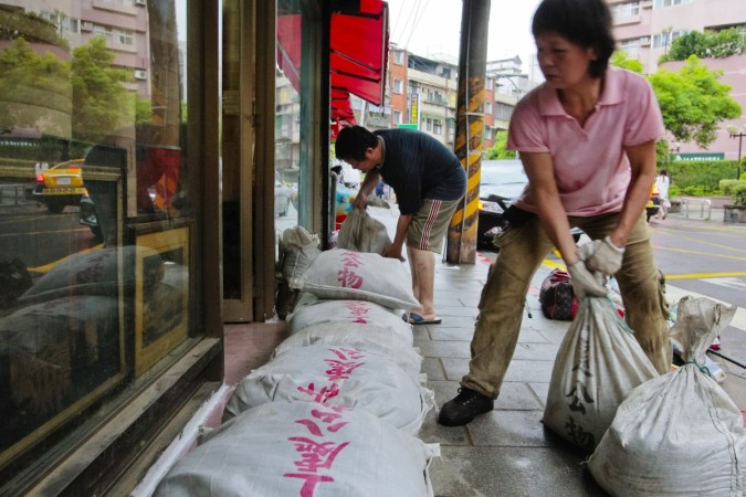 Taiwan Battens Down for Typhoon Talim, Ships Warned, Flights Canceled