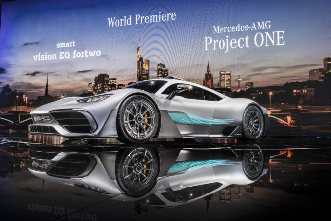 Frankfurt 2017: Mercedes-AMG Project One will exceed 350km/h